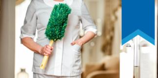 Propuesta Nh Hoteles - limpiadora saliendo de habitación de hotel