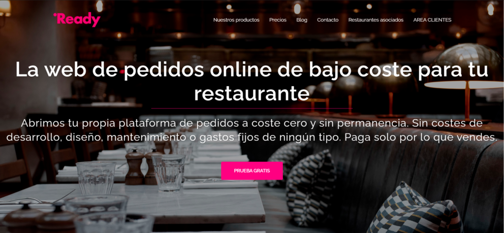 Readyme Home website