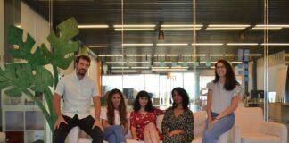 equipo de Cocopi en las oficinas de madrir