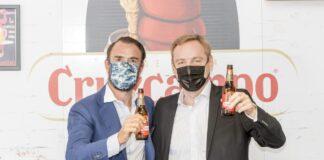 Jose Maria Capitan Fundador Y Presidente De Grupo Restalia Y Guillaume Duverdier Presidente De Heineken Espana