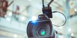 Lente Pelicula Camara Video Que Graba Filmacion Gran Inauguracion Sala Conferencias 4236 1307