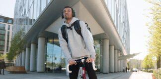 repartidor de comida a domicilio en bici